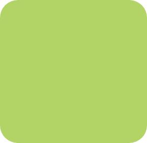Grünes Quadrat mit abgerundeten Ecken