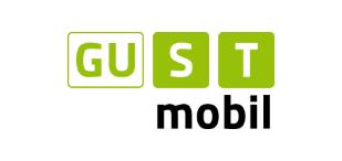 Grünes Logo der ISTmobil Region GUSTmobil Graz