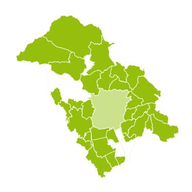 Grüne Karte der ISTmobil Region GUSTmobil