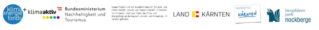 Logoleiste der Förder für das Nockmobil Kärnten