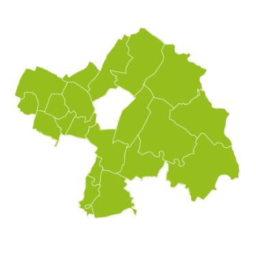 Grüne Karte der ISTmobil Region Marchfeld