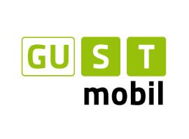 Logo der ISTmobil Region GUSTmobil in grün