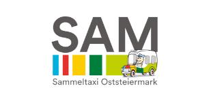 Logo der Region SAM Sammeltaxi Oststeiermark