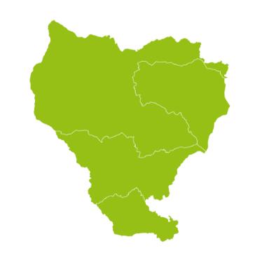 Grüne Karte der ISTmobil Region Lavanttal